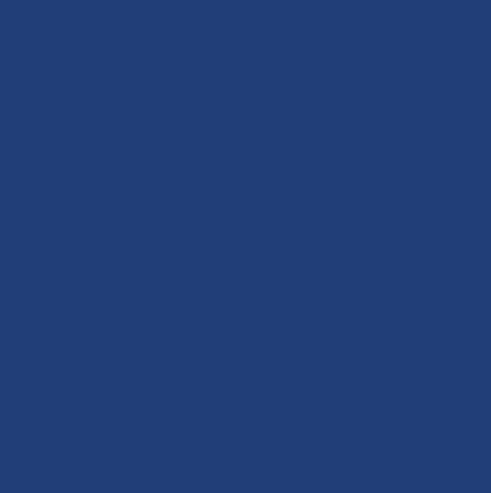 Carrelage sol intérieur grès émaillé Archicolor - bleu foncé mat -  19,7x19,7 cm - ép. 7 mm