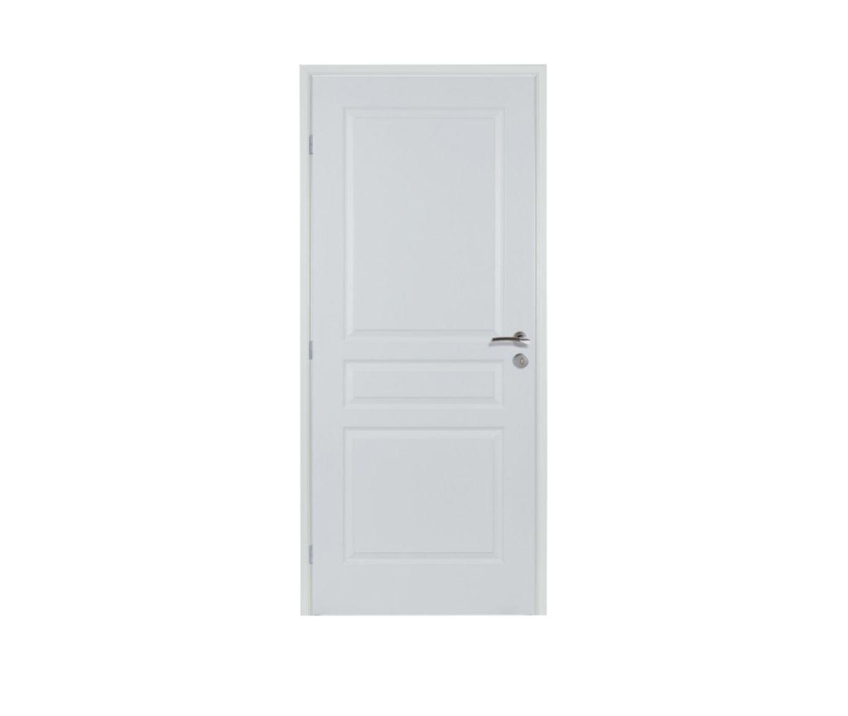 bloc porte design alvéolaire 110 td 3 panneaux prépeint