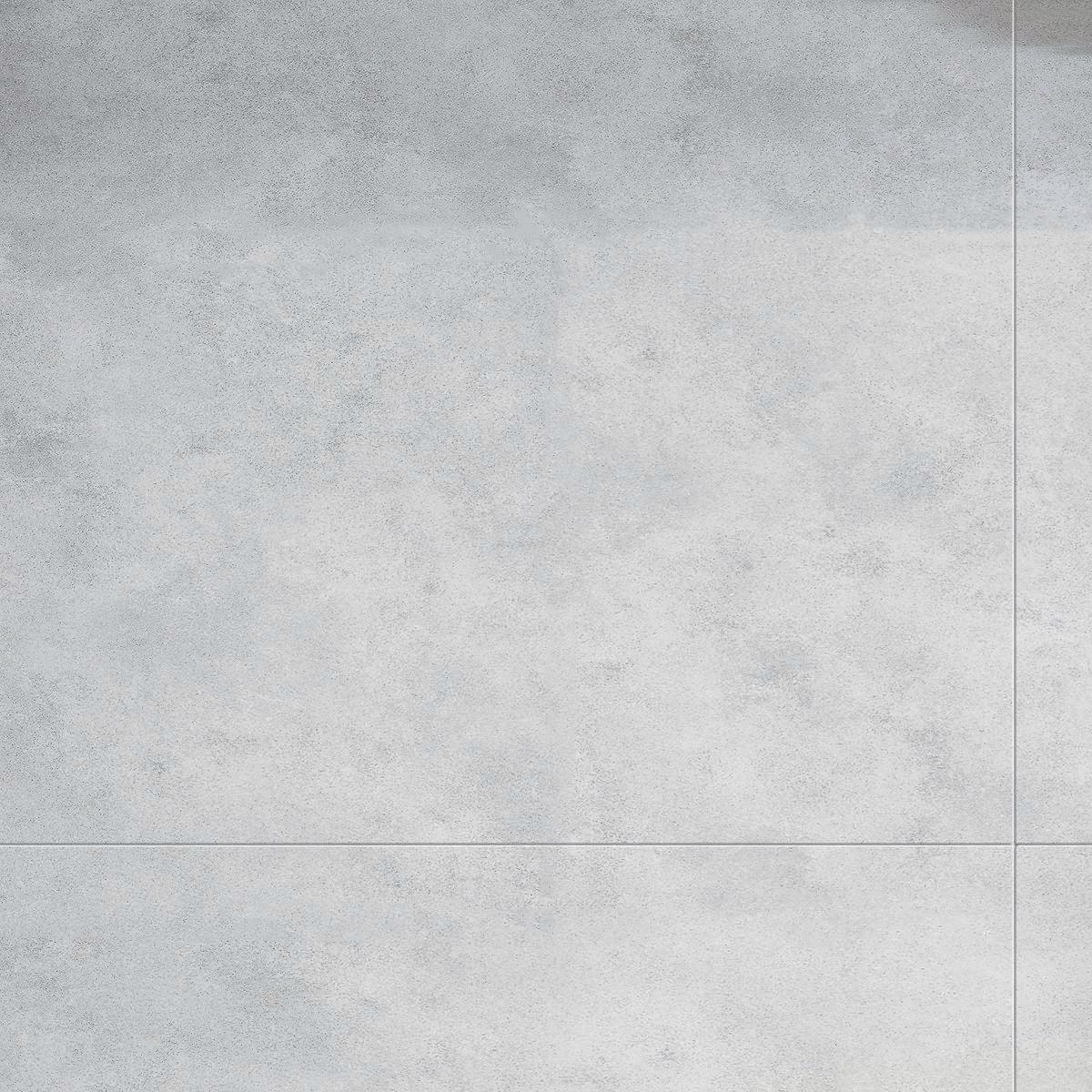 Dalle Murale Pvc Imitation Carrelage Gris Clair Light Cement 37 5x65 Cm Arte Home