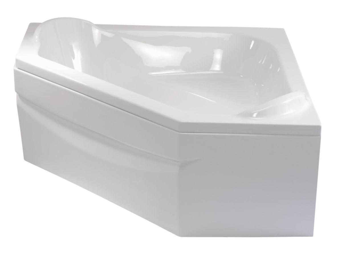 Tablier Baignoire D Angle Alterna Blanc 140 Cm